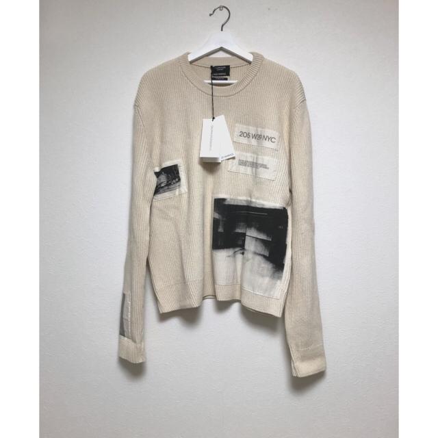 RAF SIMONS(ラフシモンズ)の最終値下げ 205W39NYC Calvin Klein ニット メンズのトップス(ニット/セーター)の商品写真