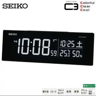 セイコー(SEIKO)のSEIKOデジタル目覚まし時計(置時計)