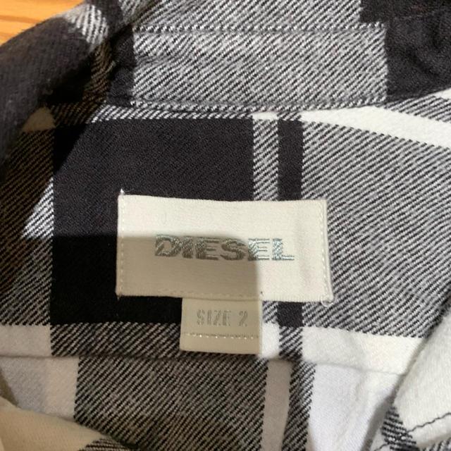 DIESEL(ディーゼル)のディーゼル シャツ サイズ2 90センチ キッズ/ベビー/マタニティのキッズ服 男の子用(90cm~)(Tシャツ/カットソー)の商品写真