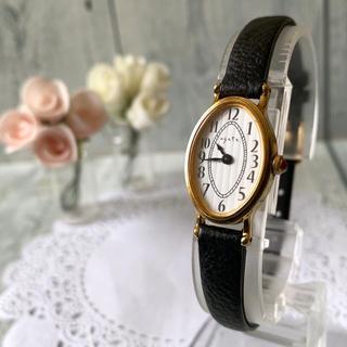 アガット(agete)の【美品】agete アガット 腕時計 silver シルバー ゴールド(腕時計)
