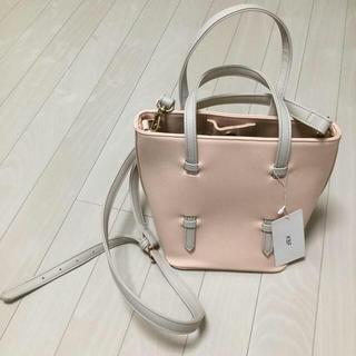ケービーエフ(KBF)のKBF 2waybag 新品未使用タグ付き ピンク(ショルダーバッグ)