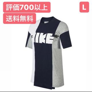 サカイ(sacai)のL【最安値】NIKE × Sacai Hybrid Tシャツ(Tシャツ(半袖/袖なし))