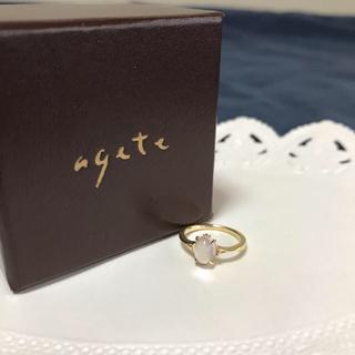 アガット(agete)のアガット ローズクオーツ ピンキーリング(リング(指輪))