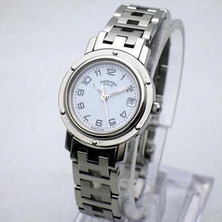 Hermes - 【HERMES】エルメス クリッパー CL4.210レディース腕時計