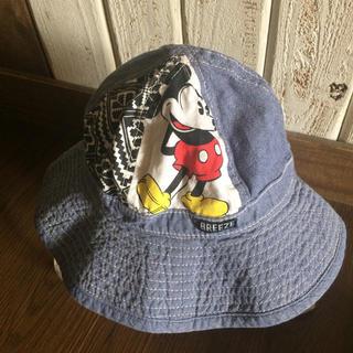 ブリーズ(BREEZE)のBREEZEミッキー帽子☆50cm(帽子)