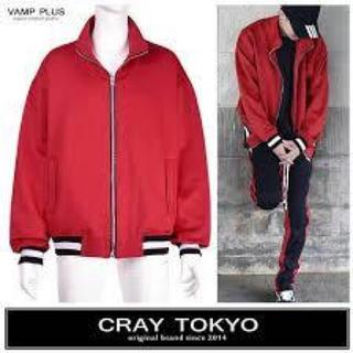 FEAR OF GOD - cray tokyo トラックジャケット オーバーサイズ レッド