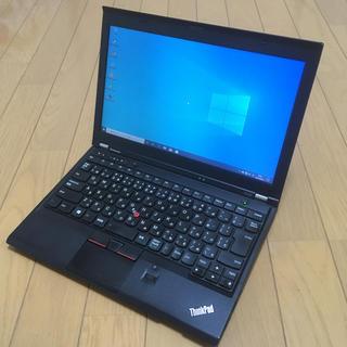 レノボ(Lenovo)のThinkPad X230 Core i5 4G 320gb 指紋認証有り(ノートPC)