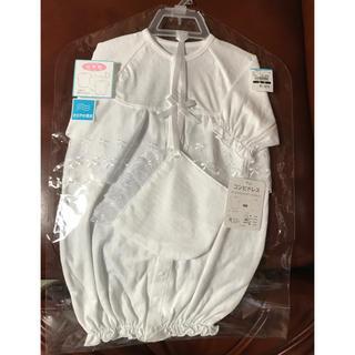 新品 未使用 日本製コンビドレス2点セット 新生児(セレモニードレス/スーツ)