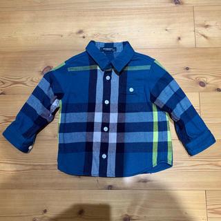 BURBERRY - バーバリー ネルシャツ サイズ 90センチ 美品