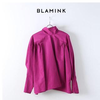 Drawer - 新品未使用blaminkブラミンク コットンシルクボウタイブラウス