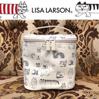 Lisa Larson - 未使用 リサラーソン バニティポーチ スケッチ柄
