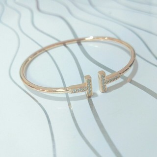 Tiffany & Co. - Tiffany &Co. バングル 超美品 レディース ピンクゴールド 正規品