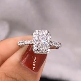 GIA♡1.02ct ダイヤモンドリング(リング(指輪))