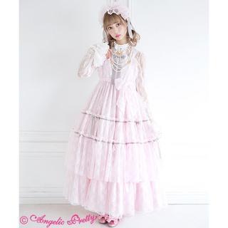 アンジェリックプリティー(Angelic Pretty)のANGELIC PRETTY ROMANTIC LACY DOLLS JSK(ロングワンピース/マキシワンピース)