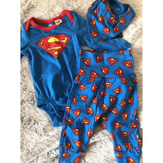 H&M - スーパーマンセットアップ(size56)