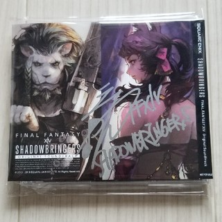 SQUARE ENIX - サイン入り FF14 OST SHADOWBRINGERS