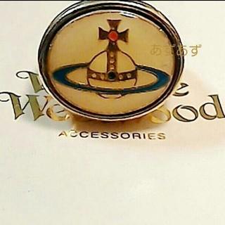 ヴィヴィアンウエストウッド(Vivienne Westwood)の人気のエナメルオーブリング 稀少なゴールドカラー ヴィヴィアン(リング(指輪))