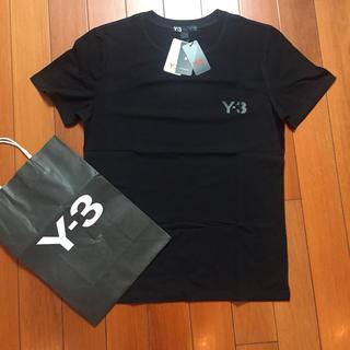 ワイスリー(Y-3)のY-3サイズM黒Tシャツ(Tシャツ/カットソー(半袖/袖なし))