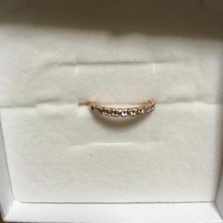 ジュエリーツツミ(JEWELRY TSUTSUMI)のジュエリーツツミ🌟K10 ピンクゴールドダイヤモンドリング 11号②(リング(指輪))