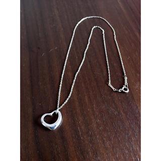 Tiffany & Co. - ティファニー オープンハート ネックレス 925