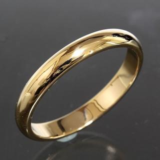 カルティエ(Cartier)のカルティエ cartier シンプル リング size65 K18YG 仕上済(リング(指輪))