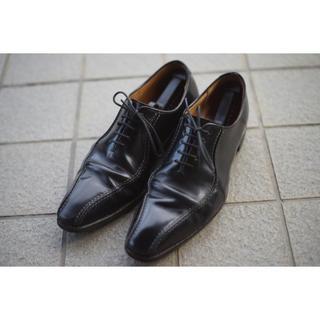 リーガル(REGAL)のREGAL 318R 28cm 黒スワールトゥ ビジネスシューズ 革靴(ドレス/ビジネス)