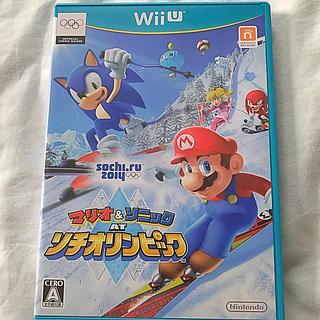 Wii U - 「マリオ&ソニック AT ソチオリンピック」 任天堂