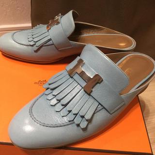 エルメス(Hermes)の正規品 HERMES リヴォリ ローファー スリッポン 36(ローファー/革靴)