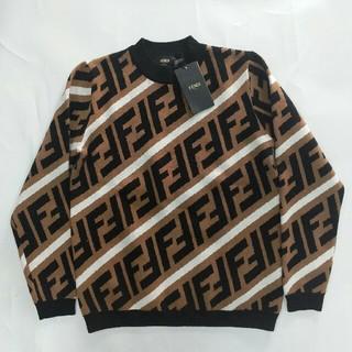 フェンディ(FENDI)の送料込み FENDI セーター 新品 ファッション 超美品 男女兼用(ニット/セーター)