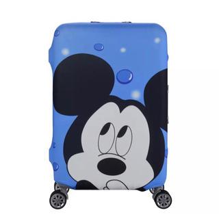 Disney - 再入荷 1点限り スーツケースカバー ブルーミッキー  XL