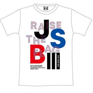 三代目 J Soul Brothers - 三代目 jsb  ツアーt 白 Lサイズ
