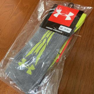 アンダーアーマー(UNDER ARMOUR)の新品 アンダーアーマー ソックス 靴下 LG ヒートギア(ソックス)