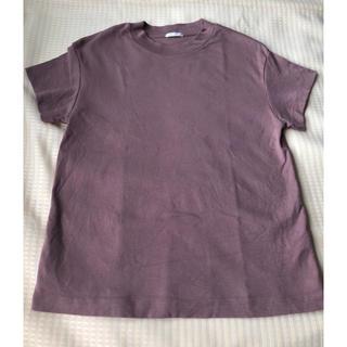 GU - ブラウンTシャツ