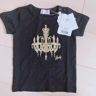レディー(Rady)のちびRady シャンデリア刺繍入り Tシャツ(Tシャツ/カットソー)