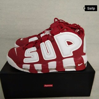 NIKE - Supreme Nike Air More Uptempo 28.5cm