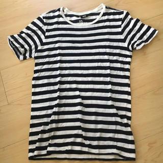 エイチアンドエム(H&M)のボーダー Tシャツ 半袖(Tシャツ/カットソー(半袖/袖なし))