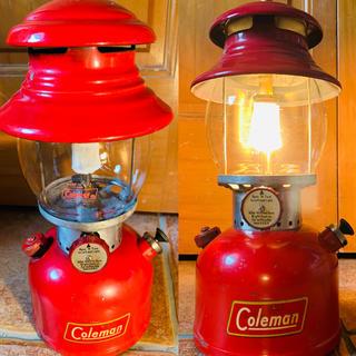 コールマン(Coleman)の【超レア】コールマン 200A イエローデカール ビンテージ 【災害対策にも】(ライト/ランタン)
