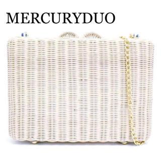 マーキュリーデュオ(MERCURYDUO)のMERCURYDUO チェーン付き カゴバッグ ショルダー(ショルダーバッグ)
