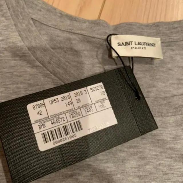 Saint Laurent(サンローラン)のXXL 新品 Saint Laurent 半袖 Tシャツ ロゴ メンズのトップス(Tシャツ/カットソー(半袖/袖なし))の商品写真