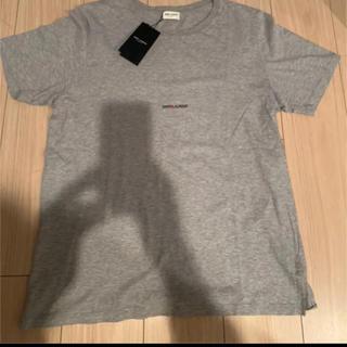 サンローラン(Saint Laurent)のXXL 新品 Saint Laurent 半袖 Tシャツ ロゴ(Tシャツ/カットソー(半袖/袖なし))