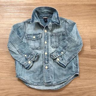 ベビーギャップ(babyGAP)のbaby GAP デニムシャツ 95サイズ(ブラウス)