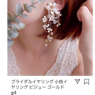 ヴェラウォン(Vera Wang)のウェディングドレス ブライダル ピアス パール イヤリング 未使用新品(イヤリング)
