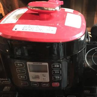 コイズミ(KOIZUMI)の半額以下!有吉ゼミで紹介!5段階圧力で簡単・時短で本格的な電気圧力鍋(調理機器)