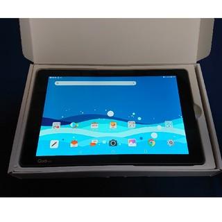 エルジーエレクトロニクス(LG Electronics)のau qua tab pz ネイビー(タブレット)