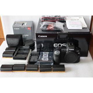 Canon - キヤノン EOSR + バッテリー7本+マウントアダプタ等付属品多数(9/22迄