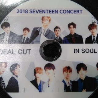 SEVENTEEN - SEVENTEEN  2018ソウルライブ DVD
