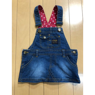 babyGAP - ラングラー デニムジャンパースカート