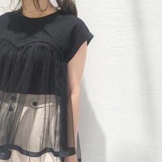 ミスティック(mystic)のチュールビスチェT(Tシャツ(半袖/袖なし))