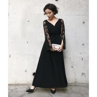 Ameri VINTAGE - ☆完売品 結婚式 AMERI LACE SLEEVE REFINED DRESS