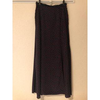 フレイアイディー(FRAY I.D)のstyling/ドットスカート新品未使用タグ付き(ロングスカート)